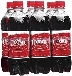 Cheerwine Cherry Soda (6 Pack Plastic Bottles)