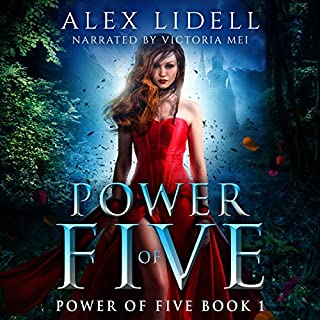 Power of Five: Reverse Harem Fantasy     Power of Five Series, Book 1              By:                                                                                                                                 Alex Lidell                               Narrated by:                                                                                                                                 Victoria Mei                      Length: 5 hrs and 27 mins     24 ratings     Overall 4.2