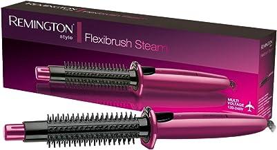 Remington Flexibrush Steam Hot Air Styler Brush, Heated Hair