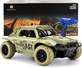 Gizmovine Remote Control Cars 4WD High Speed Vehicle 15.5 MPH+ Racing Rc Cars 2.4Ghz Off Road Monster Trucks, Toy Car for Kids Birthday