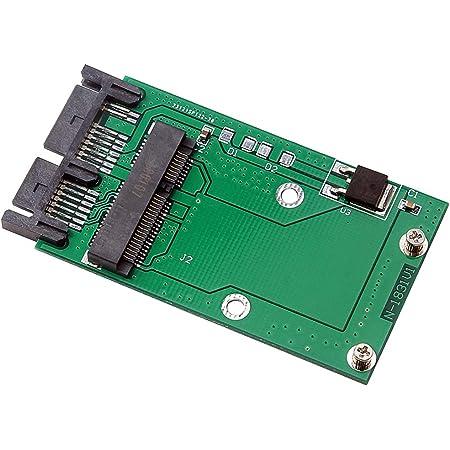 Perfk 1 Stück Msata Ssd Auf 1 8 Zoll Micro Sata 16pin Elektronik
