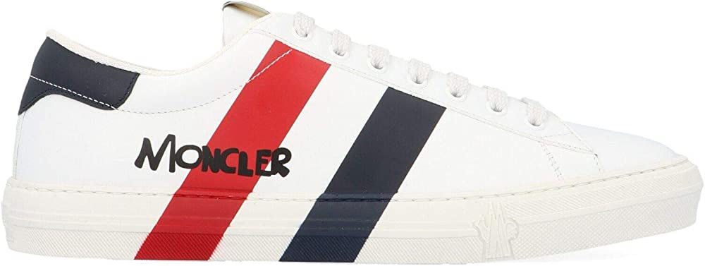 Moncler luxury fashion uomo sneakers in pelle 103580001A5U002