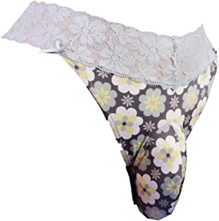 Sissy Pouch Panties Men's lace Thong G-String Bikini Briefs Hipster hot Underwear Sexy for Men VC