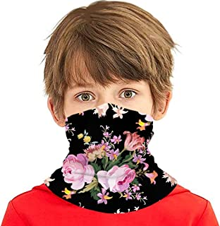 Verctor Pink Roses Vintage On Nature Rose Multifunción Headwear Cuello Polaina Balaclava Cubierta Facial para niños