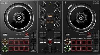 Pioneer DDJ-200 - Controlador de nivel de entrada Bluetooth para DJ utilizable con teléfono inteligente, Negro