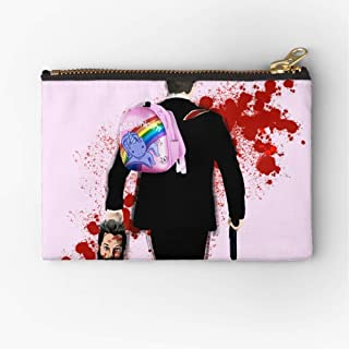 Pouch Unicorn Altered Carbon Hello Zipper Zipper Accessories Pencil Cosmetic Makeup Office Supplies and Travel Pouch