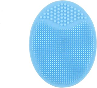 Syga 1 Pieces Facial Cleansing Pads, Soft Silicone Face Scrubbers Exfoliators Face Blackhead Removing Massage Tool (Assort...
