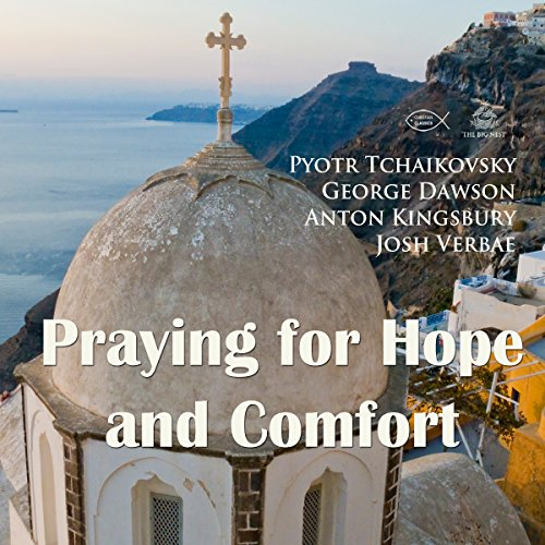 Praying for Hope and Comfort audiobook cover art