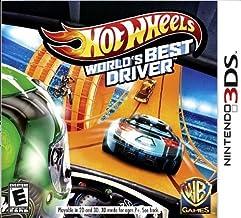 Jogo Hot Wheels World's Best Driver - Nintendo 3DS Usado