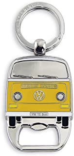 BRISA VW Collection - Volkswagen Combi Bus T1, T2, T3 / Coccinelle Porte-clés, Anneau Porte-clefs avec Décapsuleur, Idée d...