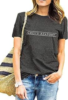 Greys Anatomy T Shirt Womens Teen Girls Cute Graphic Tee Tops