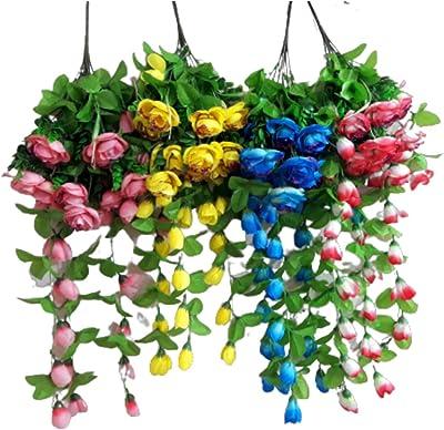 Khanna Plastics-Mix Color Artificial Flower for Decoration Purpose-Multi