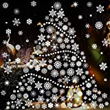 TMCCE 232 Piece Christmas Snowflake Window Decal...