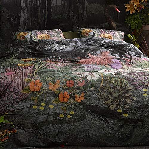 Essenza Iglone Green dekbedovertrek voor tweepersoonsbed, zonder hoeslaken