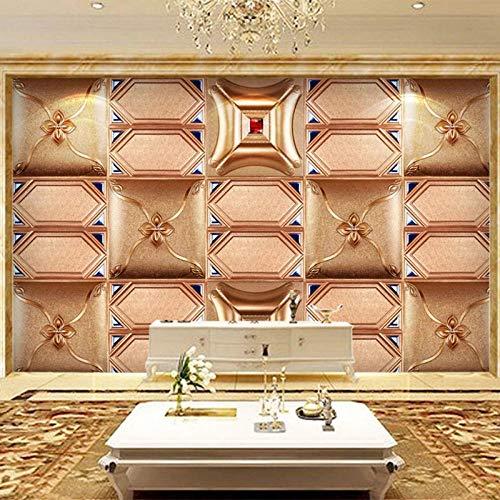 Efecto de la foto del cartel del papel pintado mural 400x280cm Pegatinas de pared Sala de estar Dormitorio TV Fondo Pared Oficina Decoración del hogar Murales de pared de tela no tejida Moda casa cuad