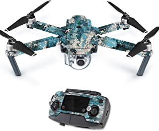 Mightyskins Skin Compatible With Dji Mavic Pro Quadcopter Drone - Rift | Protective, Durable, And Unique Vinyl Decal Wrap Cover | Easy To Apply, Remove, And Change Styles | Made In The Usa