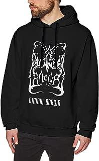 XIGL Men's Hoodie Dimmu Stormblast Borgir Sports Sweatshirt Black