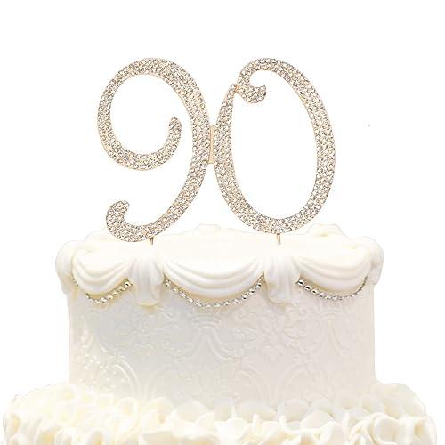 Amazing 90 Cake Topper Amazon Com Funny Birthday Cards Online Necthendildamsfinfo
