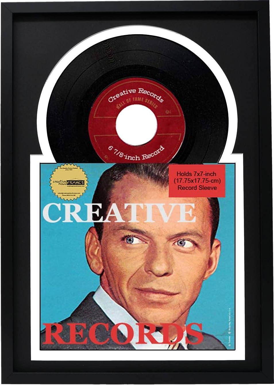 Creative Picture Frames 45 RPM 価格交渉OK送料無料 Frame 公式ショップ with Single Jukebox Record