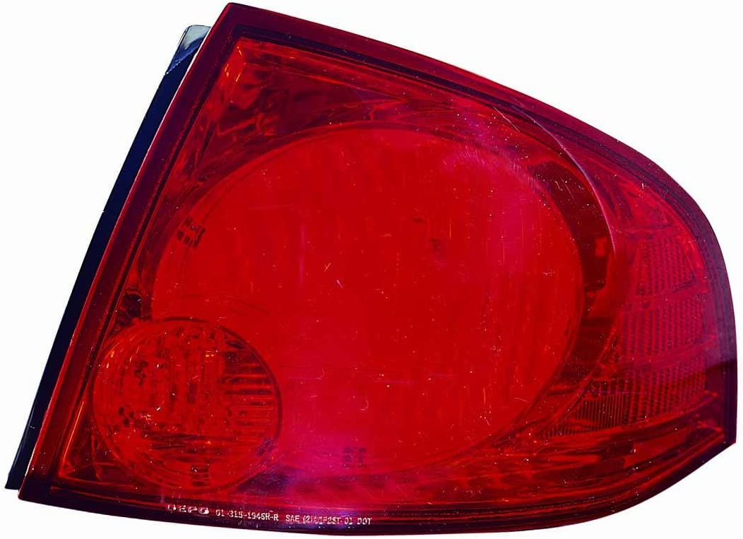 DEPO 315-1946R-ACD Replacement Passenger Side Assembl 70% Cheap mail order sales OFF Outlet Light Tail