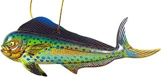 Mahi Mahi Ornament Realistic Dorado Fish Christmas Tree Decoration, 4 Inches Long