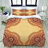 LIICOCO - Juego de funda de edredón, diseño de tabla de Ouija, microfibra de invierno de tres piezas, varios patrones personalizados para cama individual con 2 fundas de almohada, Color01, 230 x 220cm