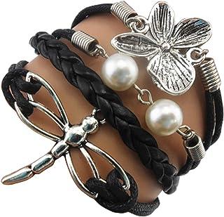 Ac Union Handmade Cute Infinity Tortoise Angel Wings Owl Butterfly Anchor Brids Heart Best Friend Charm Friendship Gift Le...