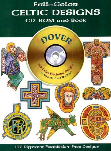 Full-Color Celtic Designs CD-ROM and Book (Dover Electronic Clip Art)