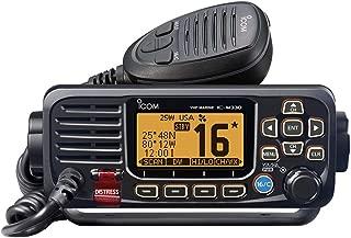 ICOM M330 11 Icom VHF, Basic, Compact, Black