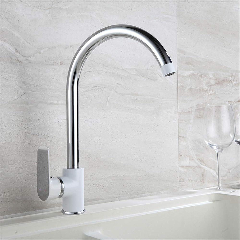 Oudan Cold Kitchen Faucet Mixing Faucet Lavatory Copper Sink Faucet Hole (color   B, Size   -)