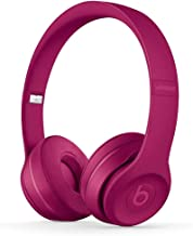 Beats by Dre Solo 3 Wireless On Ear Headphone Neighborhood Collection Brick Red (Renewed)