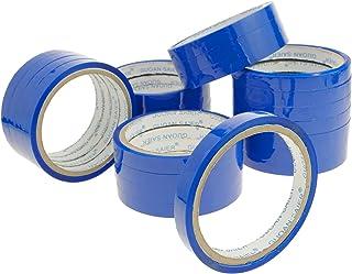 PrimeMatik - Blauwe tape voor afdichtingstape sluit 24-pack plastic zakken