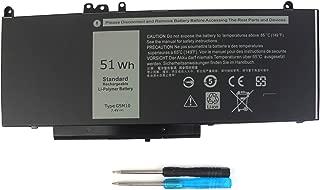 G5M10 Laptop Battery for Dell Latitude 14 E5450 Latitude 15 E5550 Notebook 8V5GX R9XM9 WYJC2 1KY05 0WYJC2 7.4V 51WH - 12 Month Warranty