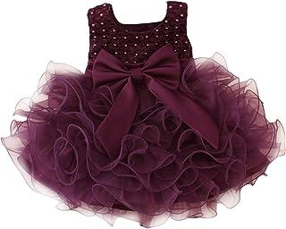 (ラボーグ)La Vogue ベビー ドレス 女の子 チュール ワンピース ノースリーブ キッズ 子供 フォーマル プリンセス 赤ちゃん スカート 発表会 結婚式