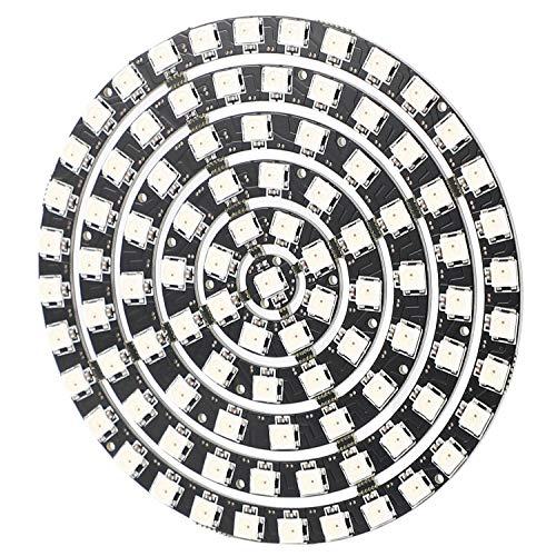 Cimoto WS2812 SK6812 Radius 110Mm LED Ring 5050 DC5V DIY LED Ring Eingebauter RGB Adressierbarer LED Ring 93 Bits LEDs