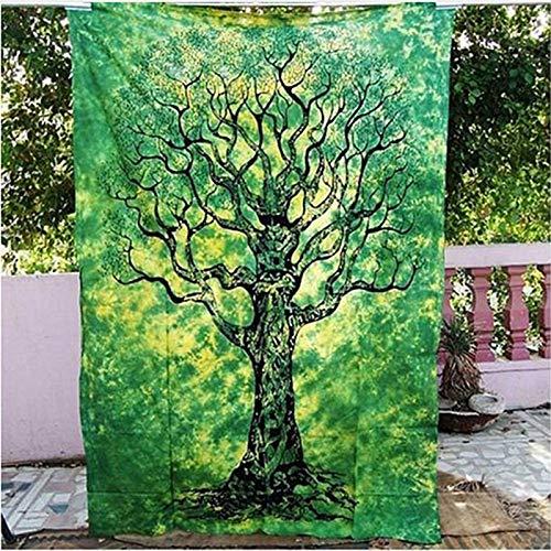 Tapiz de mandala hippie estilo boho colgante de pared tela de pared india estera de yoga decoración del hogar tapiz de tela de fondo A4 180x230cm