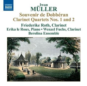 Müller: Clarinet Quartets Nos. 1 and 2