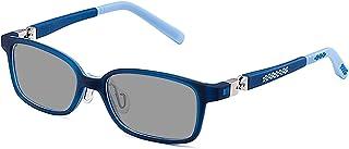 SHEEN KELLY - TR90 Gafas de sol polarizadas para niños, niñas, niños, niñas, con bisagras giratorias de 360 °, gafas de sol, rectangulares, ligeras, de 3 a 8 años