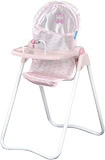 Hauck Princess Pink Snacky Doll High Chair