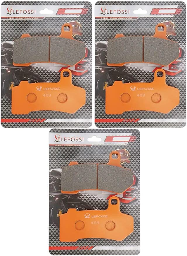 Lefossi Max It is very popular 73% OFF Front Rear Carbon Fiber part comp aftermarket Brake Pads