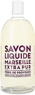 Compagnie de Provence Savon de Marseille Extra Pure Liquid Soap - Fig of Provence - 33.8 fl oz Plastic Bottle Refill