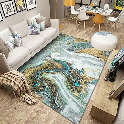 Wohnzimmer Teppich Minimalistischer moderner Stil, für Schlafzimmer Flure SofaTable Küche Nachttisch Dekor Rutschfester Großer Teppich-200 * 300cm