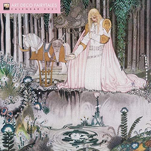 Art Deco Fairytales Wall Calendar 2021 (Art Calendar)