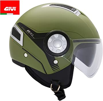 Givi Hps 11 1 Air Demi Jet Helm Neon Gelb M Auto