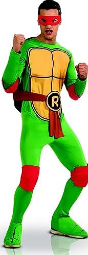 DéguiseHommest Raphael Tortues Ninja adulte - Taille Unique