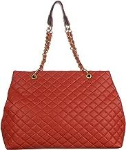 d'Orcia Magnolia Qilted Shopper Handbag
