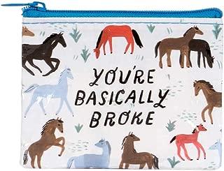 Blue Q Bags, Coin Purse, You're Basically Broke