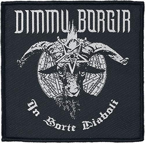 Dimmu Borgir In sorte diaboli Unisex Patch Mehrfarbig 100% Polyester Band-Merch, Bands