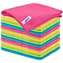 12-Pack Mr. Siga Microfiber Cleaning Cloth
