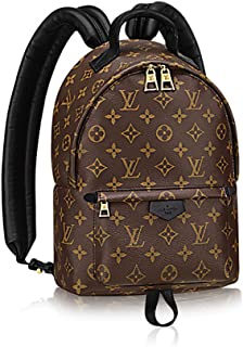 Authentic Louis Vuitton Monogram Canvas Palm Springs Backpack PM Handbag  Article  M41560 Made in France f553c774905ac